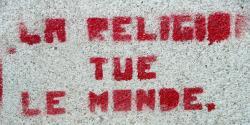La religion tue le monde